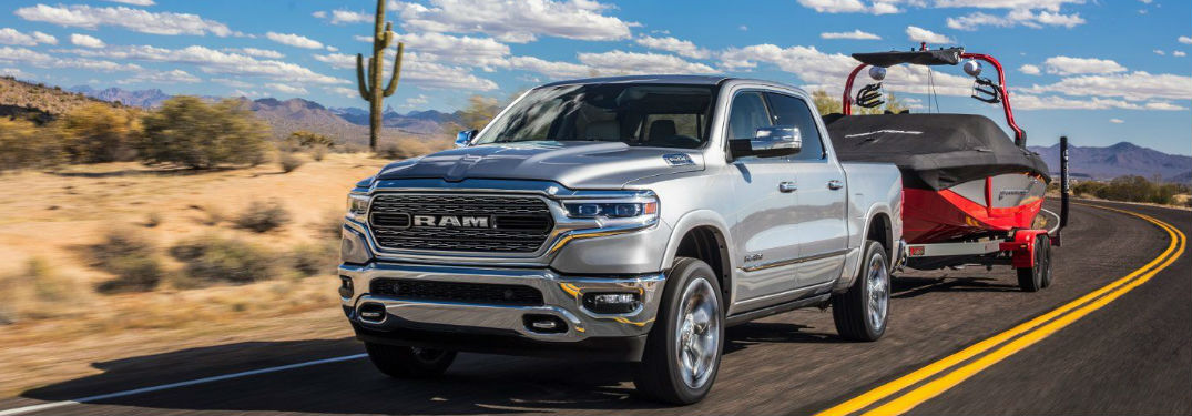 Multiple engine options provide new 2019 Ram 1500 with powerful tow rating