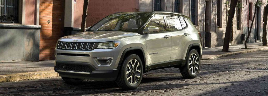 2019 Jeep Compass parked on a street