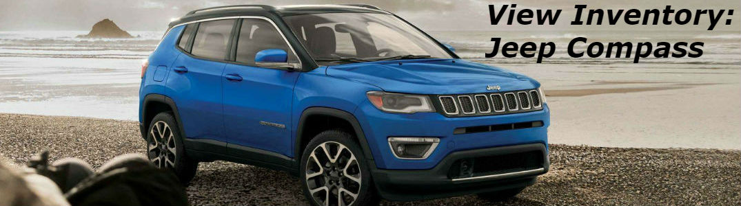 2019 Jeep Compass parked showing front and side profile
