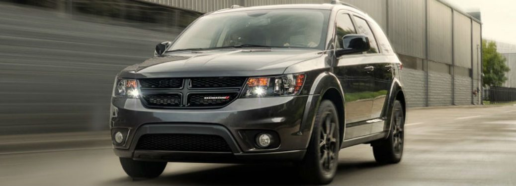 2019 Dodge Journey front profile