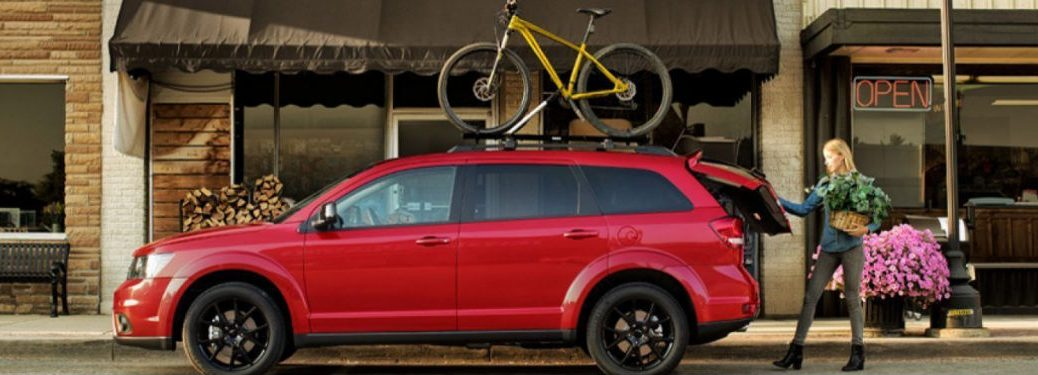 2019 Dodge Journey side profile