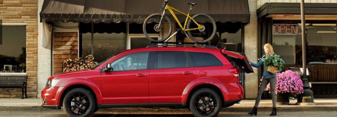 Nine color options available when buying a new 2019 Dodge Journey crossover SUV