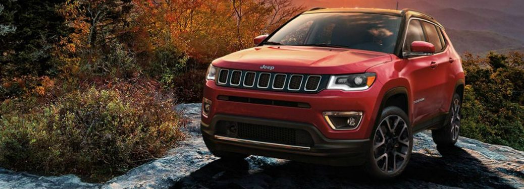2020 Jeep Compass front profile