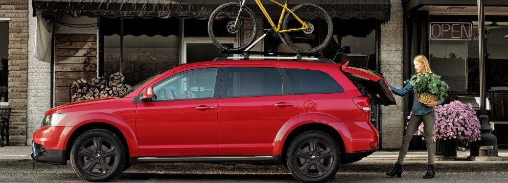 2020 Dodge Journey side profile