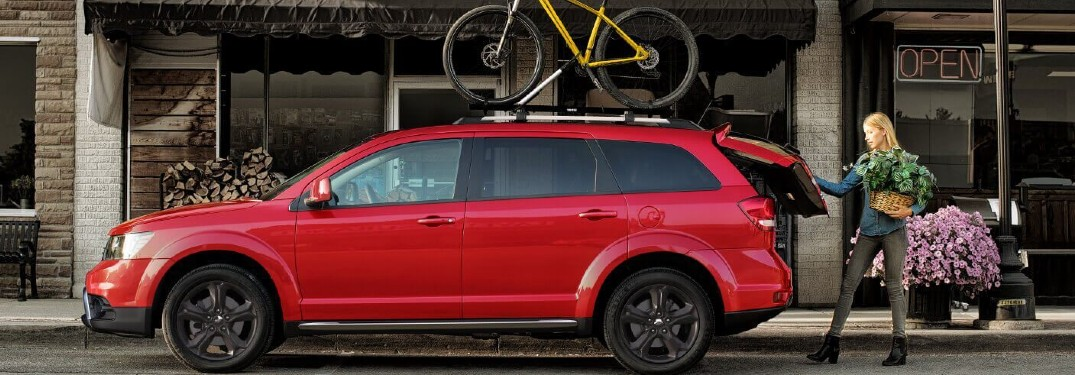 Large interior of 2020 Dodge Journey provides impressive amounts of passenger and cargo space