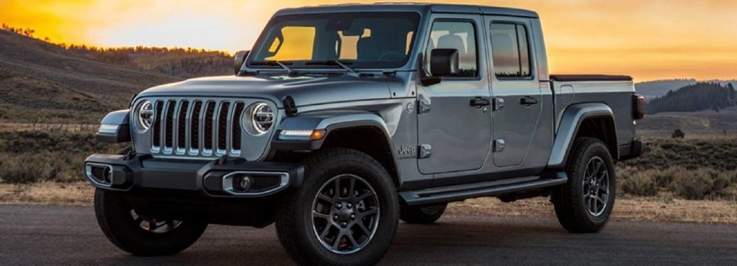 2020 Jeep Gladiator front and side profile