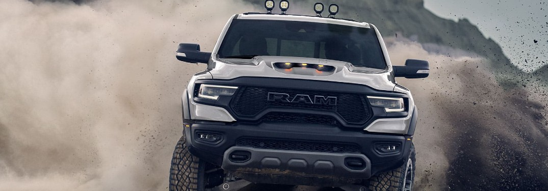 2021 Ram 1500 TRX delivers incredible horsepower and torque ratings thanks to supercharged HEMI® V8 engine