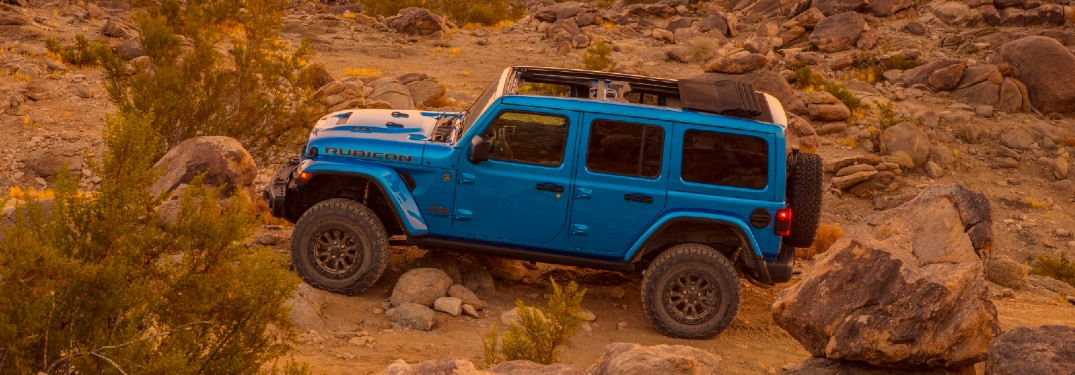 2021 Jeep Wrangler Rubicon 392 packs a punch thanks to an incredible horsepower rating
