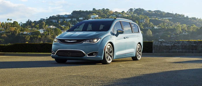 2017 Chrysler Pacifica Limited Hybrid