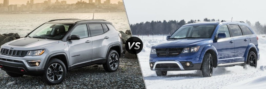 2019 Jeep Compass vs 2019 Dodge Journey