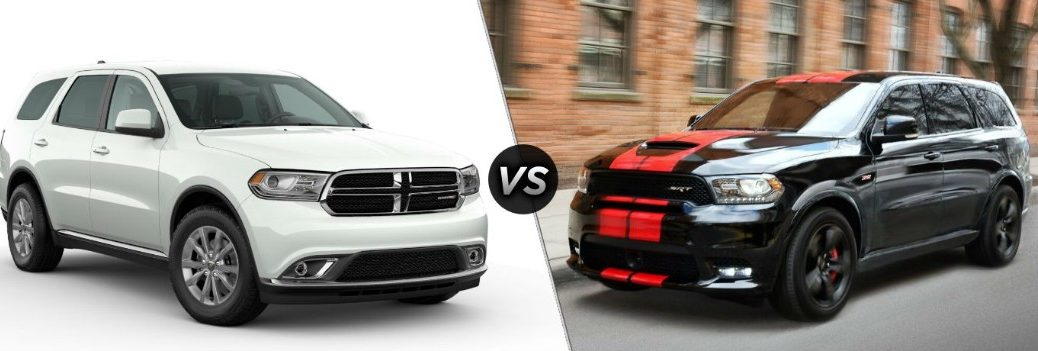 2020 Dodge Durango SXT vs 2020 Dodge Durango SRT