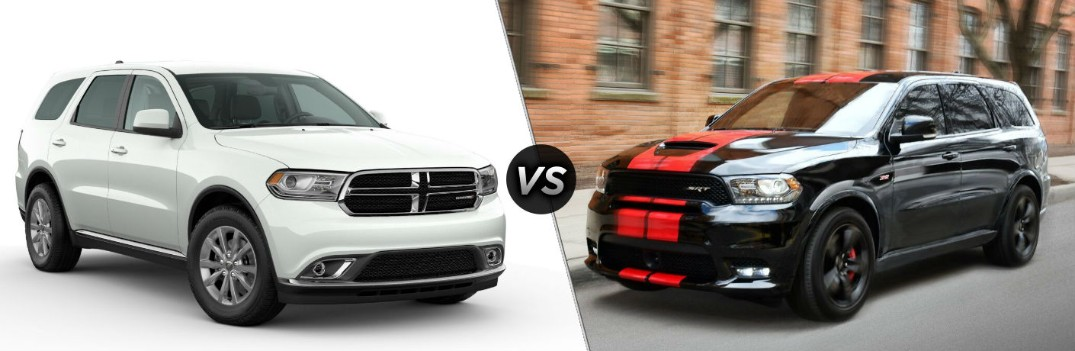 Halloween 2020 Srt What are the Differences Between the 2020 Dodge Durango SXT and
