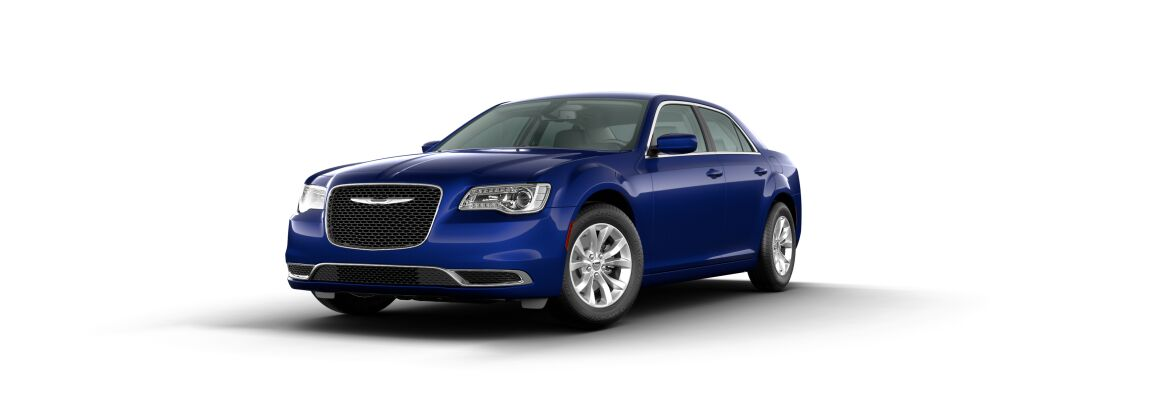 2020 Chrysler 300 Ocean Blue Metallic Clear-Coat