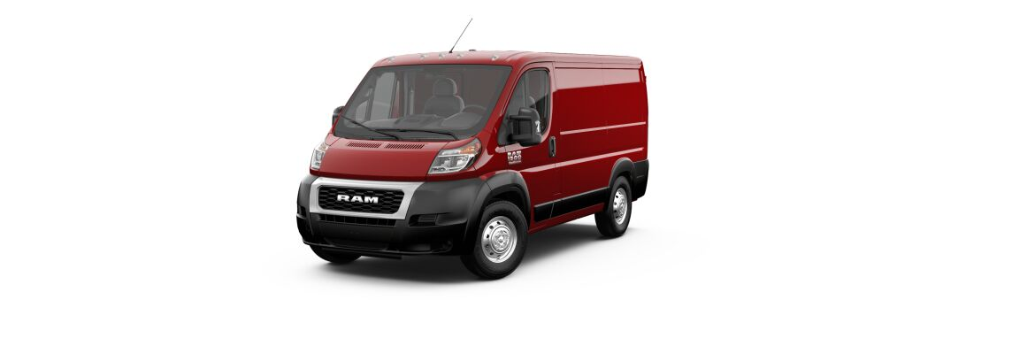 2020 Ram ProMaster Cargo Van Flame Red Clear-Coat