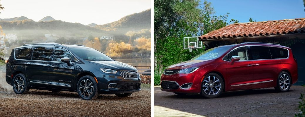 What are the Differences Between the 2021 and 2020 Chrysler Pacifica?