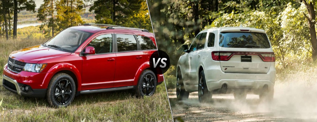 2020 Dodge Journey SUV vs 2020 Dodge Durango SUV