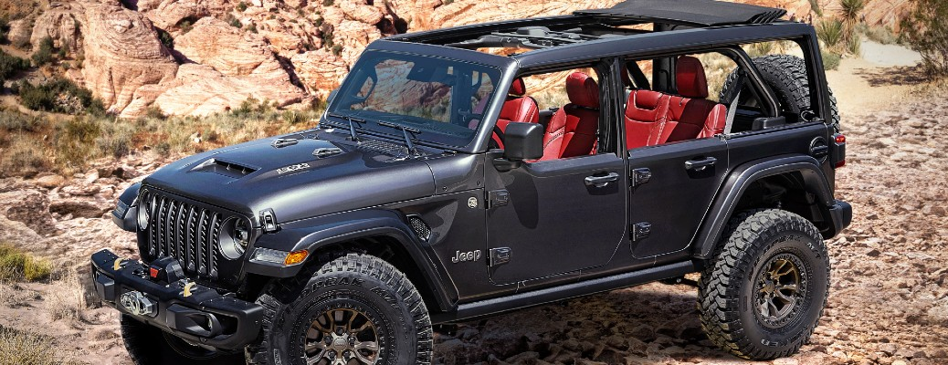 Introducing the Jeep Wrangler Rubicon 392 Concept!