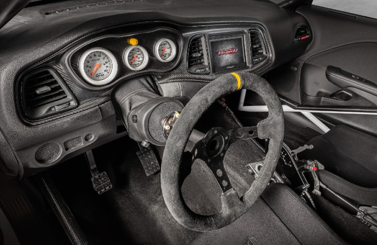 2021 Dodge Challenger Mopar Drag Pak steering wheel