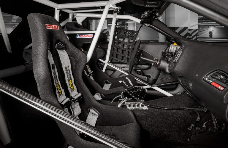 2021 Dodge Challenger Mopar Drag Pak front performance seats