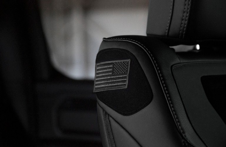 "Ram 1500 ""Built to Serve Edition"" Velcro panel"