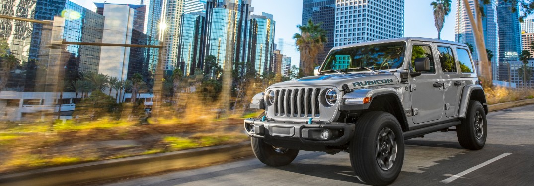 2021 Jeep Wrangler 4xe Plug-In Electric SUV offers powerful engine specs and an incredible fuel economy rating