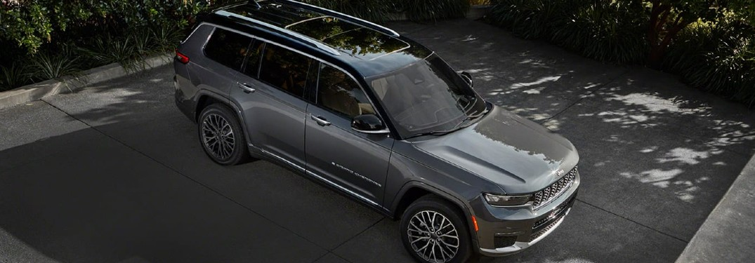 2021 Jeep Grand Cherokee L offers families a generous amount of interior passenger and cargo space