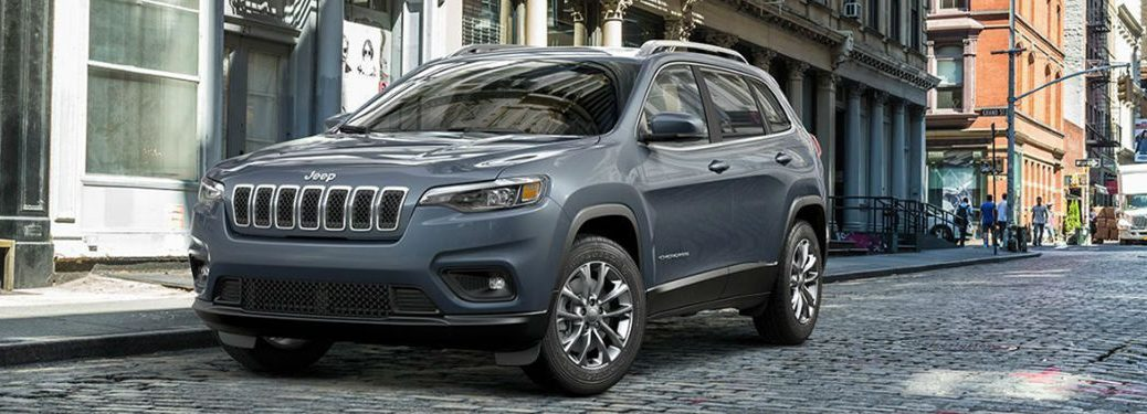 2019 Jeep Cherokee parked on a street
