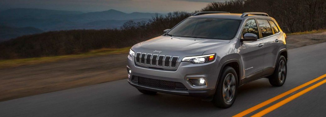 2019 Jeep Cherokee driving on a highway