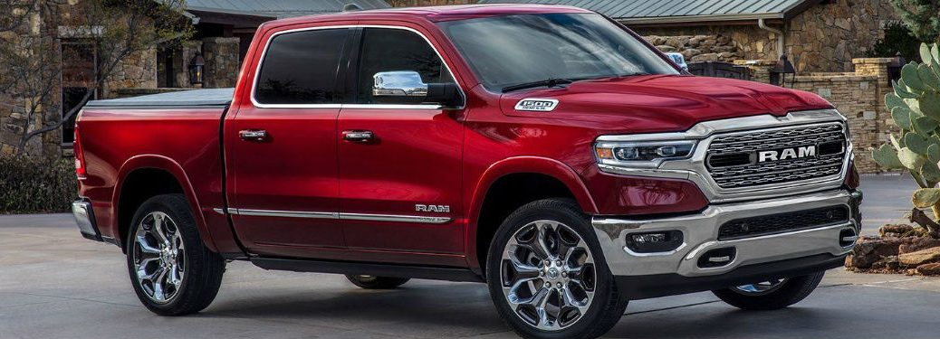 2019 Ram 1500 side profile