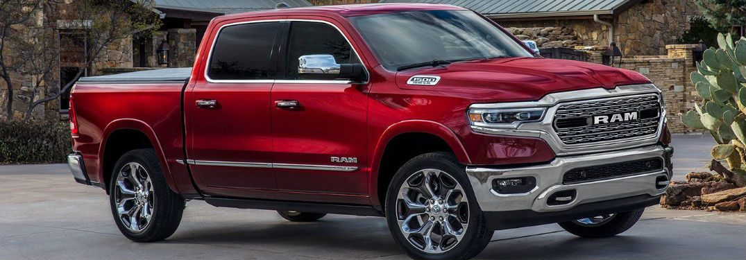 What colors does the new 2019 Ram 1500 pickup truck come in?