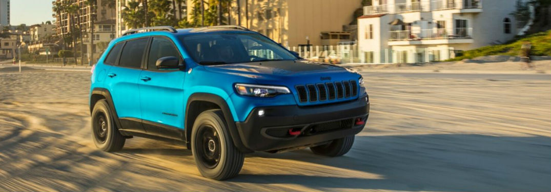 2020 Jeep Cherokee available in 7 different color options