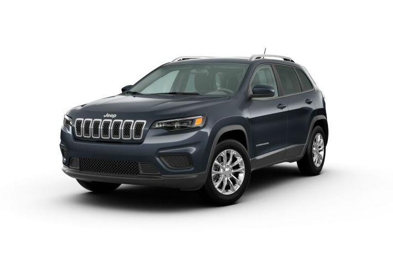 2020 Jeep Cherokee Blue Shade Pearl-Coat