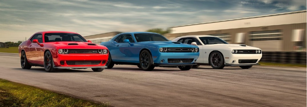 2020 Dodge Challenger offers many powerful engine options to choose from