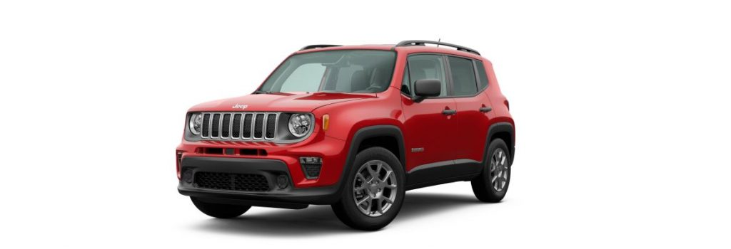 2020 Jeep Renegade Colorado Red Clear-Coat