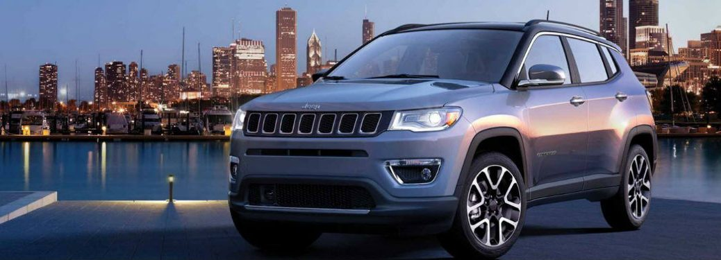 2020 Jeep Compass front and side profile