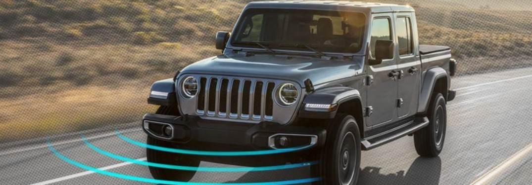 Innovative features and high-tech systems help give 2020 Jeep Gladiator a top safety rating