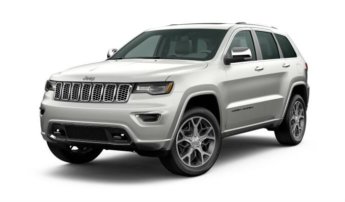 2020 Jeep Grand Cherokee Ivory Tri-Coat