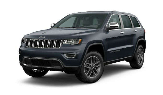 2020 Jeep Grand Cherokee Slate Blue Pearl-Coat