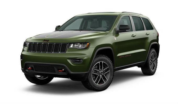 2020 Jeep Grand Cherokee Green Metallic Clear-Coat