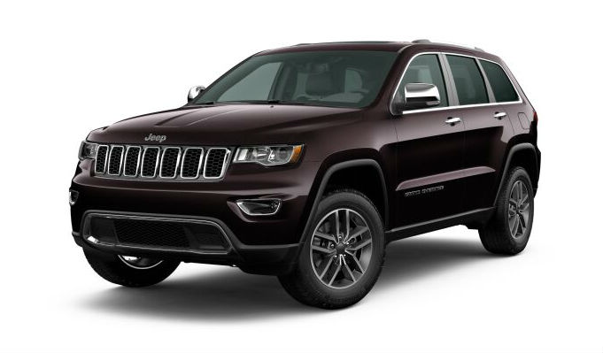 2020 Jeep Grand Cherokee Sangria Metallic Clear-Coat