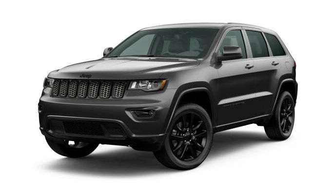 2020 Jeep Grand Cherokee Granite Crystal Metallic Clear-Coat