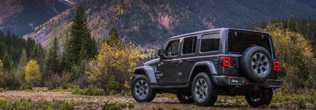 Three four-wheel-drive options let you choose the off-road capability you need in your new 2019 Jeep Wrangler