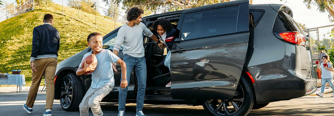 Long list of family features available in the new 2020 Chrysler Pacifica