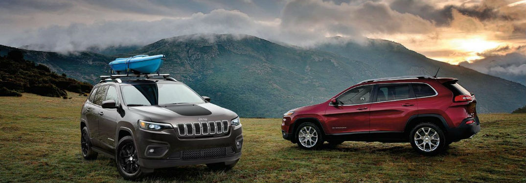 Many paint colors to choose from when buying a new 2020 Jeep Cherokee crossover SUV