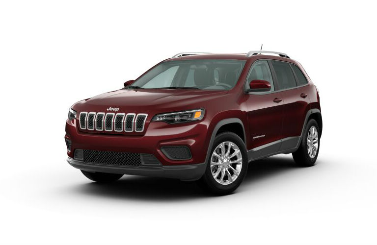 2020 Jeep Cherokee Velvet Red Pearl-Coat