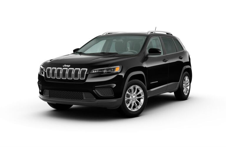 2020 Jeep Cherokee Diamond Black Crystal Pearl-Coat
