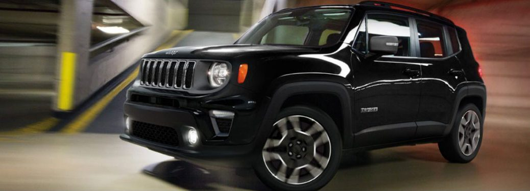 2020 Jeep Renegade side profile