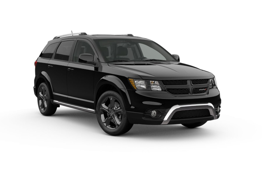 2019 Dodge Journey in Pitch Black Clear-Coat color
