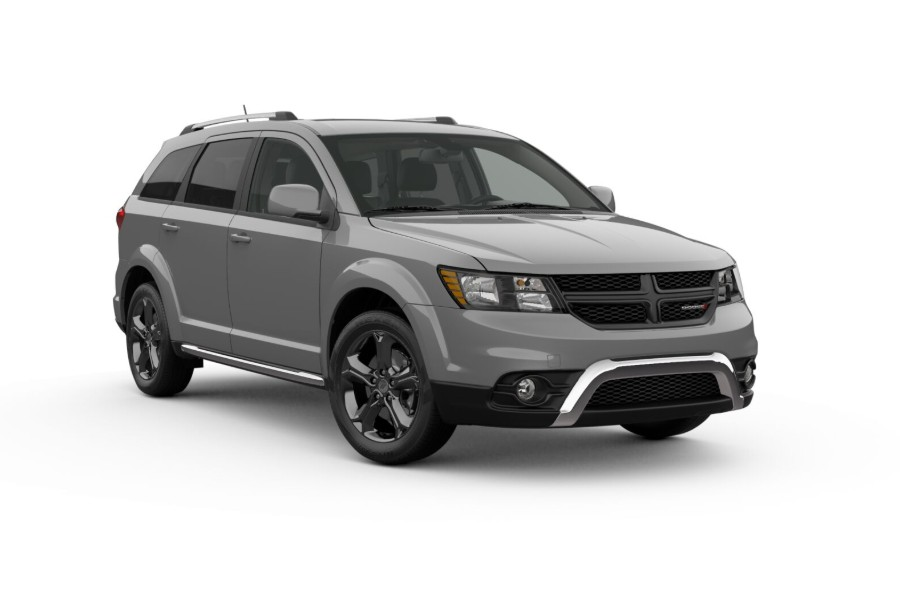 2019 Dodge Journey in Ceramic Grey Clear-Coat color