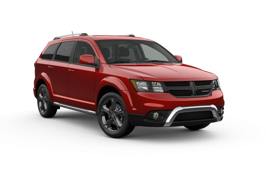 2019 Dodge Journey in Redline 2-Coat Pearl color